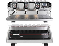 3D MODEL FAEMA E71 Espresso Machine