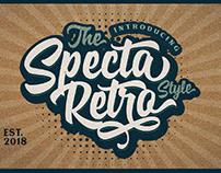 SPECTA - FREE RETRO STYLE SCRIPT FONT