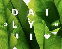Daily UI 21-40