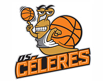 Marca e mascote para time de basquete