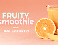 Fruity Smoothie Font