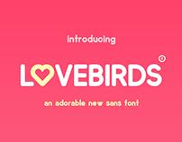 FREE Lovebirds Font