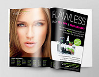 PRINT ADVERTS - Airbase Make-Up Professional