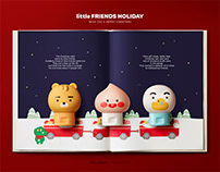 little FRIENDS x THEFACESHOP holiday edition