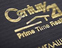 Пригласительный билет для компании CENTURY 21