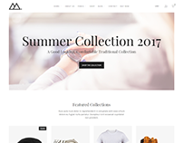 Mira - Minimalist eCommerce Template