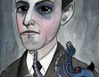 H.P. Lovecraft Literary Portrait