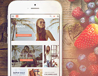 Lookshop дизайн интернет-магазина