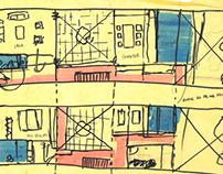CF/Proyecto habitar/Casa entre medianeras/2015-2