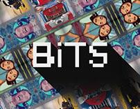 Bits - Arte - jeux de société - graphisme - Print