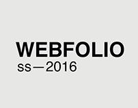 Webfolio 2016