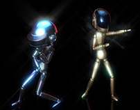 Daft Punk Animation