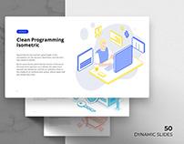 Free Isometric Infographics
