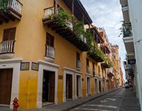 Colores de Cartagena Colonial