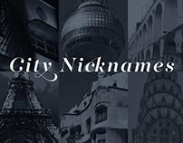 City Nicknames