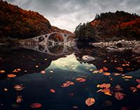 Fall at Devil's bridge