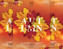 Autumn Festival - Seasonal A5 Flyer Template