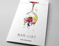 Bar list for cafe Sokolniki