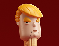Trump dispenser