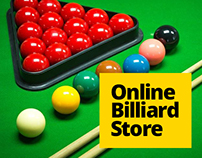 Billiard tables online store.