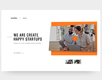 Startups Design Agency Website