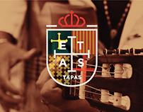 ETAS Tapas Bar Branding