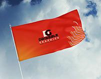 Free Modern Flag Mockup PSD