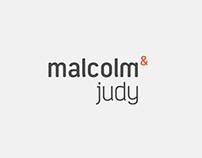 malcolm & judy branddesign & brandbook