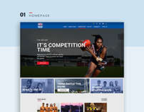 Redesigning the AFLNT website - Design by Bree Designs