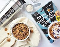 早餐吃麥片 Daily Boost 蛋白質酥脆穀物