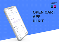 OPEN CART APP UI KIT