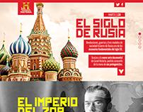 Canal Historia. El Siglo de Rusia.