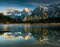 Mountain lakes. Bayern