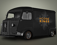 Cone Kings Premium Frozen Yogurt