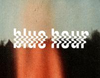 BLUE HOUR | Band logo + poster