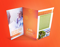 Print materials for UHealth Hospital
