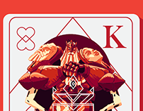 Kings&Queens Playing Cards
