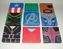 Avengers on canvas