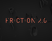Friction 2.0 - Animated Typeface