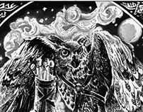 The Potionmaker's Messenger Owl