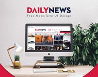 Dailynews : Free News PSD Template