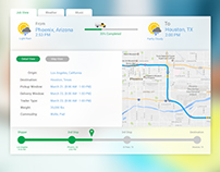 Real Time Tracking your Route and Destination.