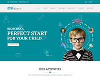 Kidschool - kids & kindergarder school WordPress Theme