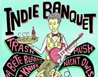 Gig Poster: Indie BanquetⅠ - Leeds
