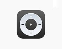 iOS player | app concept