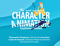 Character Animation Explainer Toolkit for After Effects