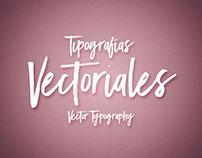 Tipografías Vectoriales/Vector Typography