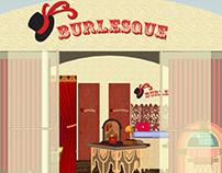 Burlesque Kitsch Store Project