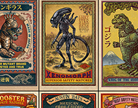 Matchbox Art Print Series