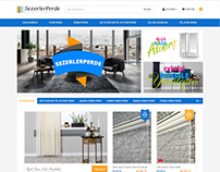 E-commerce web design || Sezerlerperde